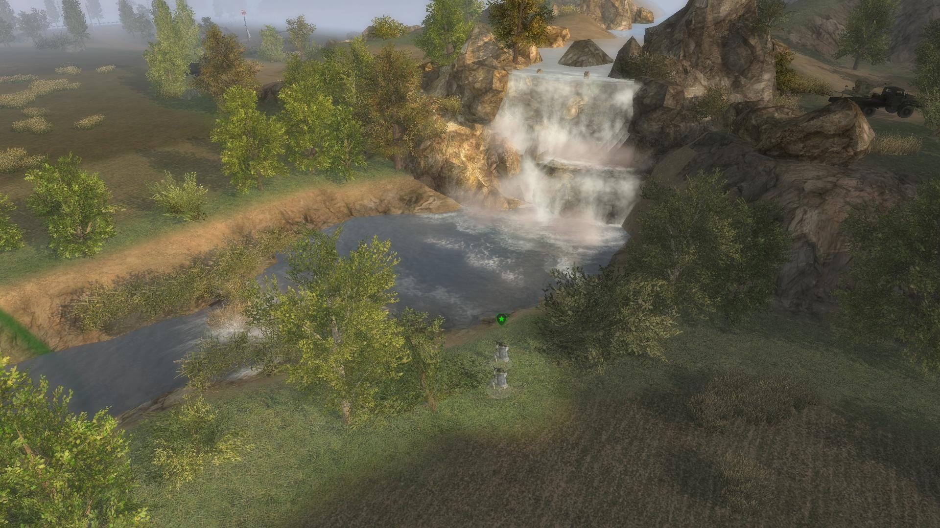 """Скачать Карта для мультиплеера """"Waterfall"""" — бесплатно"""