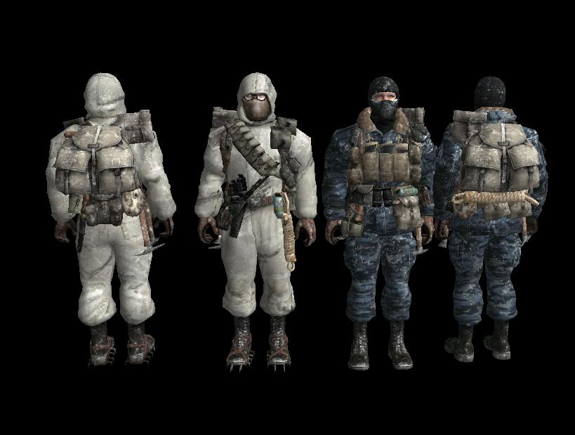 Скачать Зимний советский спецназ из Call of Duty Black Ops — бесплатно