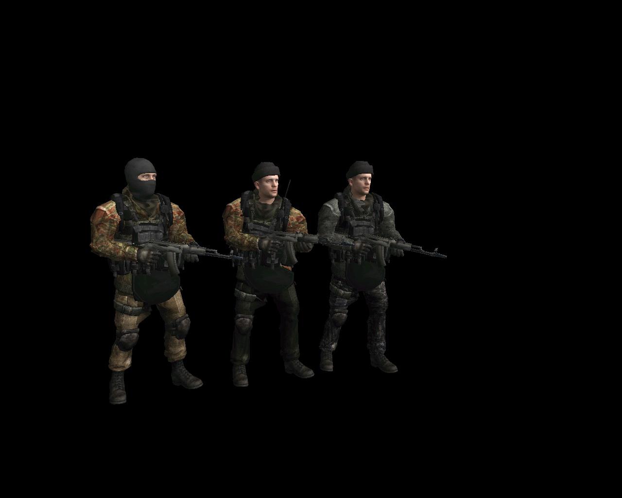 Скачать Russian Opforce (дополнение к скинам Армии Российской Федерации) — бесплатно
