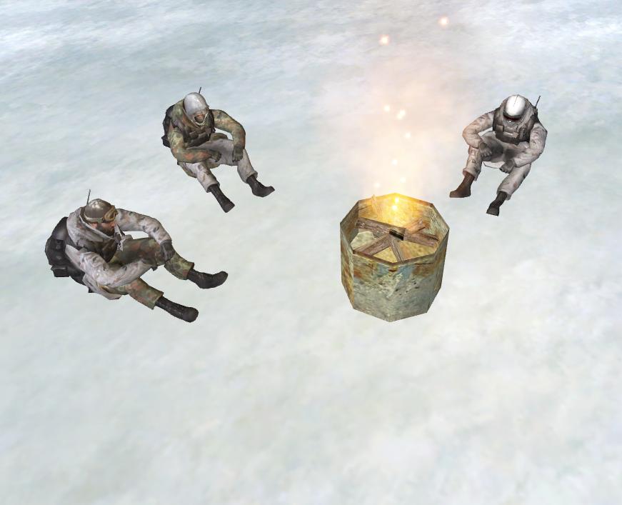 Скачать Зимний Спецназ из Modern Warfare 2 + Броня — бесплатно