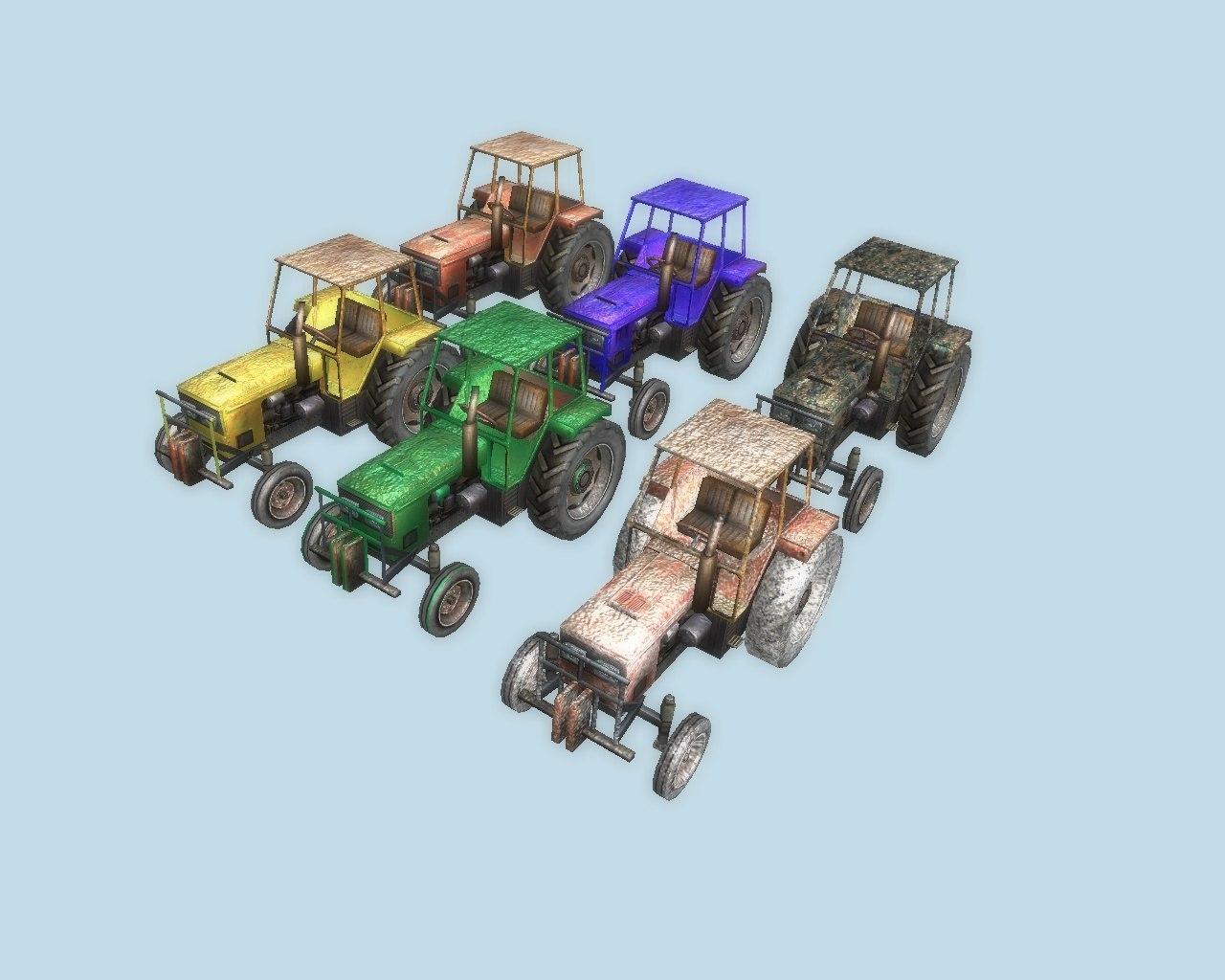 Скачать Тракторы — бесплатно