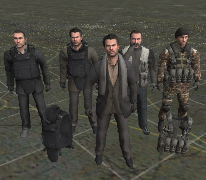 Скачать Makarov Pack + 2 Броника; Modern Warfare — бесплатно