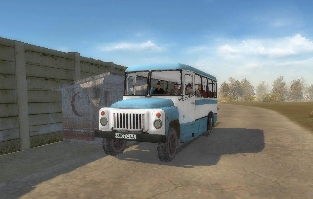 Скачать КАвЗ-685 Автобус из Сталкера с новыми текстурами — бесплатно