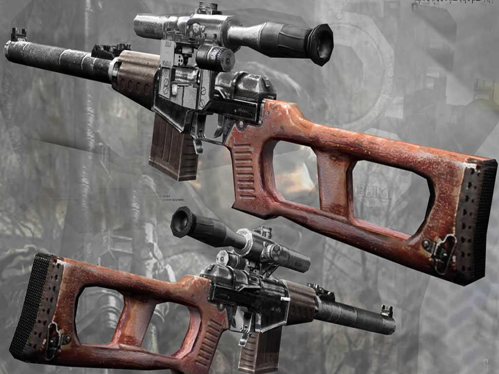 Скачать Пак оружия из игры Stalker — бесплатно