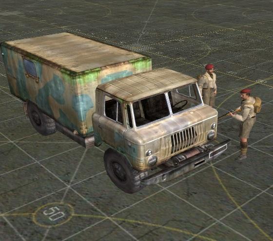 Скачать ГАЗ-66 из Сталкера — бесплатно