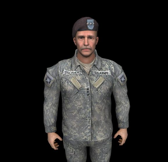 Скачать Генерал Шепард из Modern Warfare 2 — бесплатно
