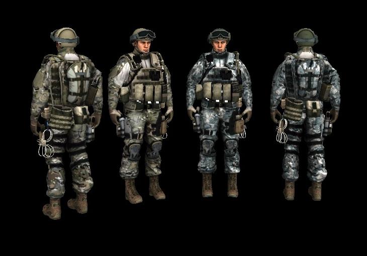 Скачать Солдат из игры Americas Army Proving Grounds Beta — бесплатно