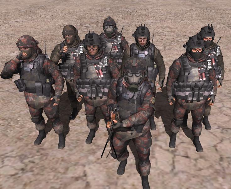 Скачать Сухопутные войска России из MW2 + Броня — бесплатно