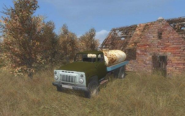 Скачать Текстуры Газ-52/53 цистерна из stalker mod — бесплатно