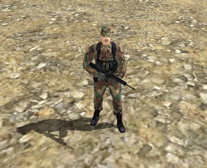 Скачать Военный из GTA SA — бесплатно