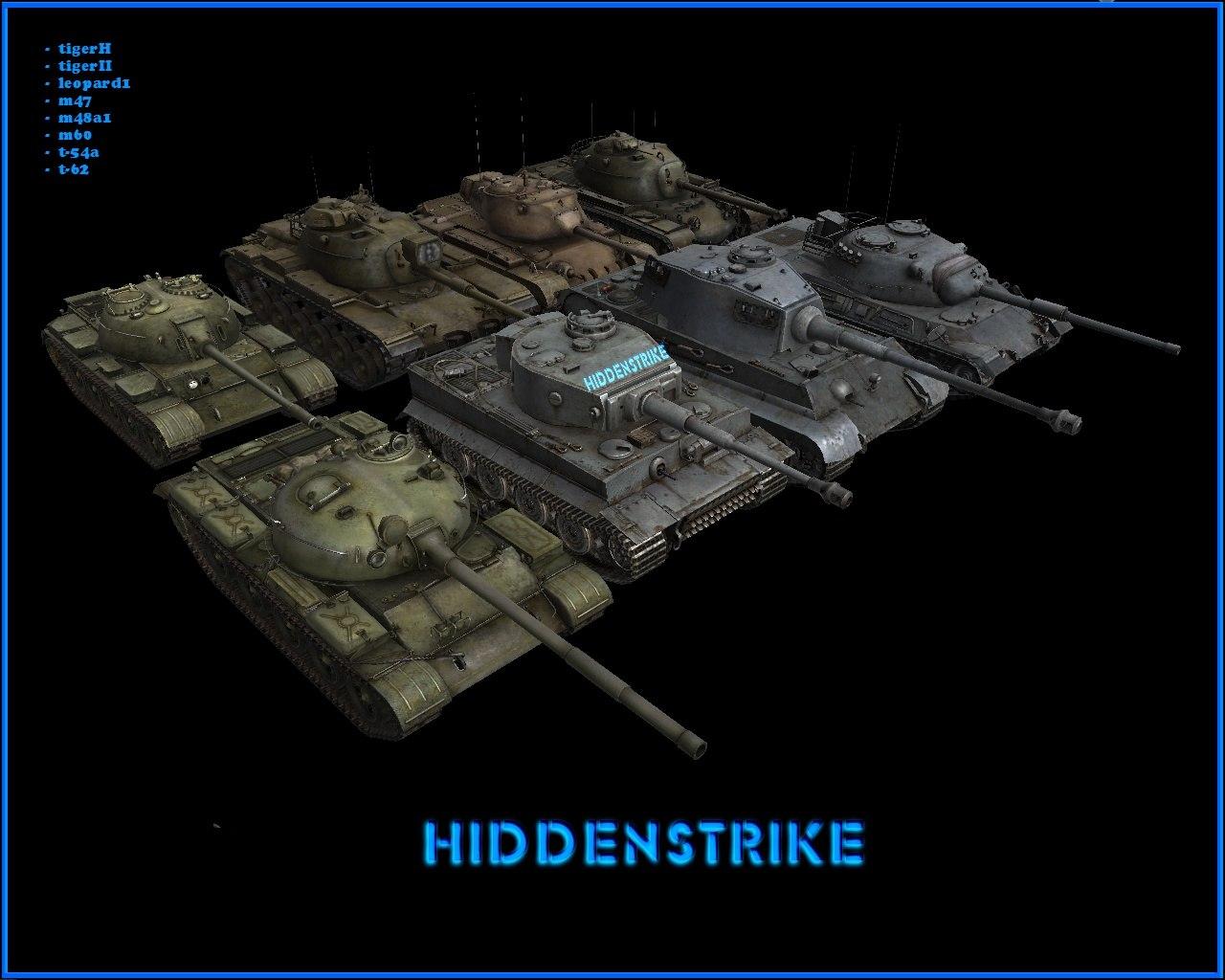 Скачать Tanks_Of_War_pak - автор Hiddenstrike (адаптация под стоковый AS1 - RuDamP79) — бесплатно