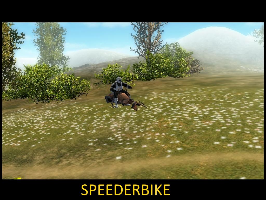 Скачать Speederbike - Star Wars - Galaxy In War — бесплатно