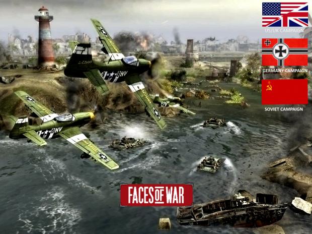 Скачать Faces of War Campaign for AS2 — бесплатно