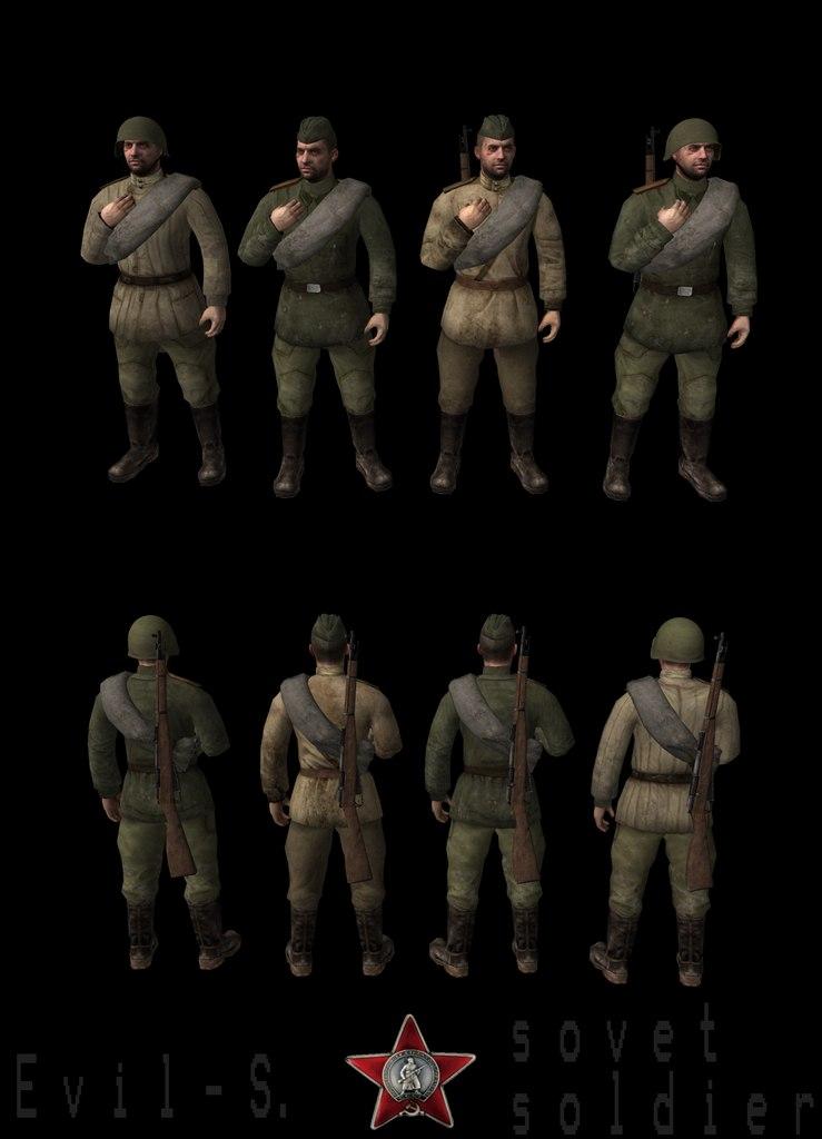 Скачать Soviet - Soldier ( Evil Studio ) — бесплатно