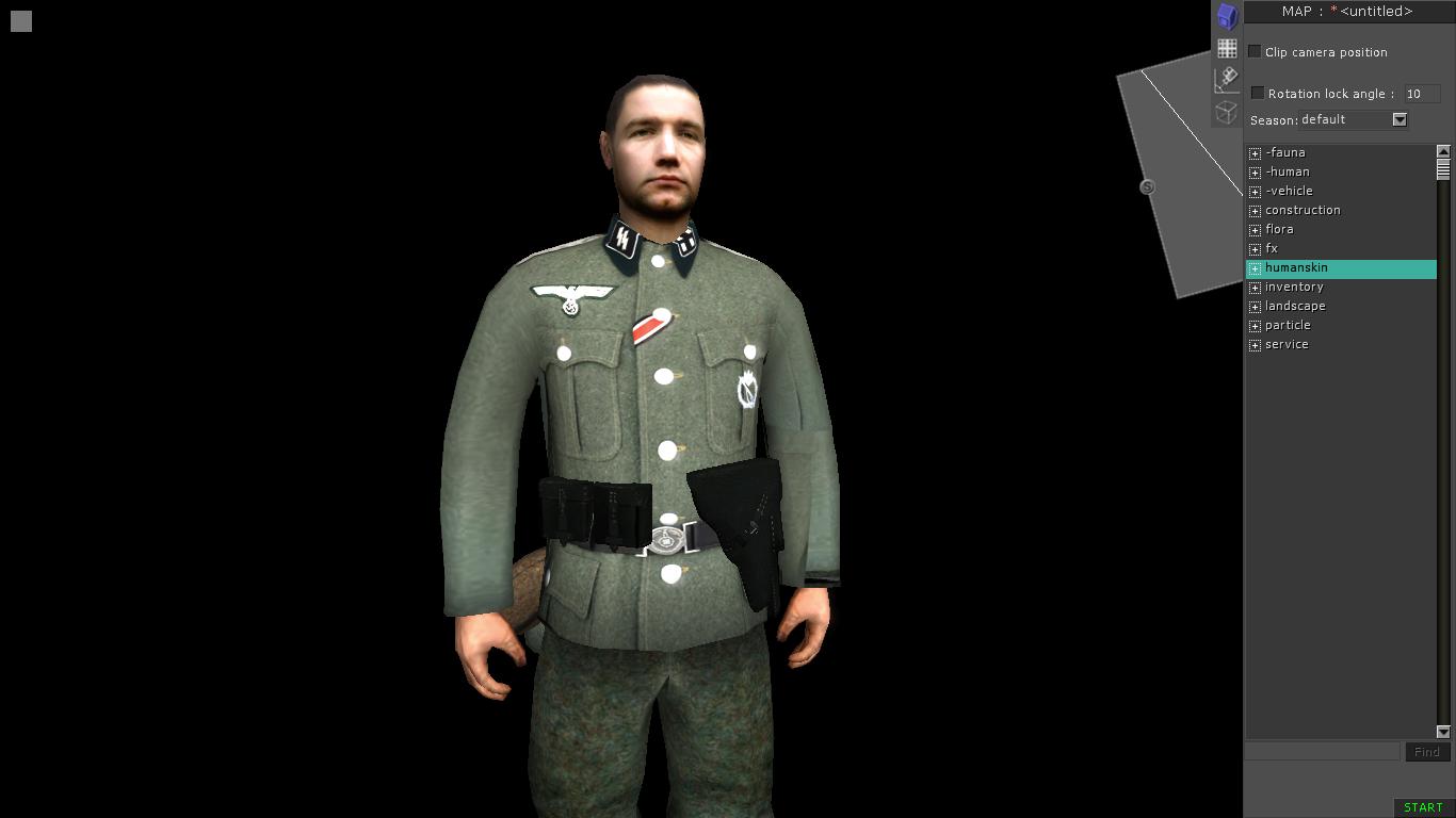 Скачать Скин пехотного немецкого офицера — бесплатно