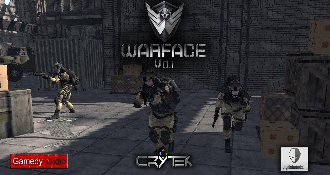 Скачать Warface v0.1 — бесплатно