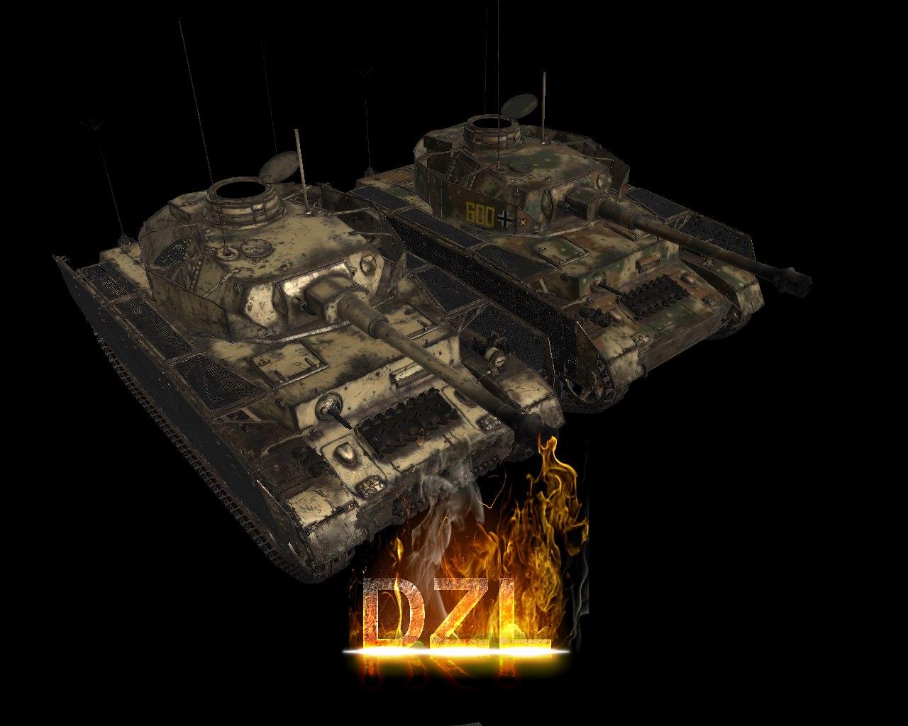 Скачать файл Pz4j - автор DZL ( рип из War Thunder )