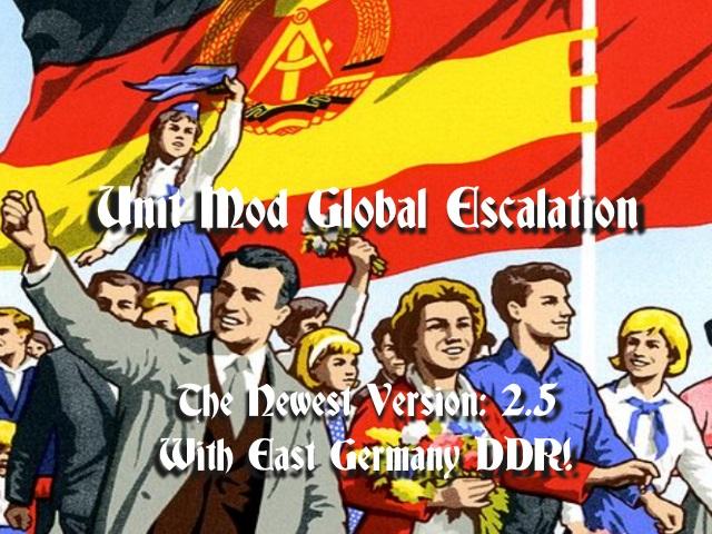 Скачать U.N.I.T. MOD - Global Escalation 2.5 — бесплатно