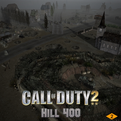 Скачать файл Hill 400 - Call of Duty 2 + missions