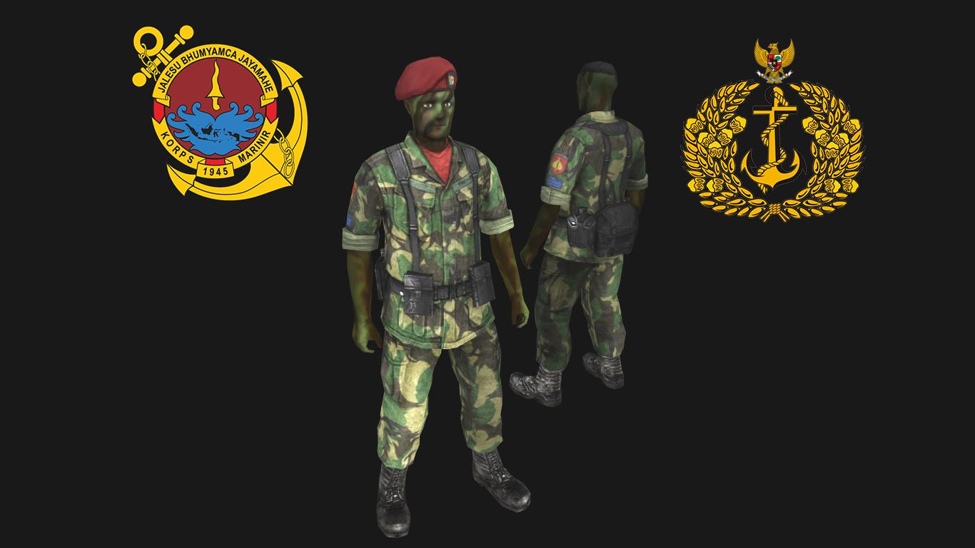Скачать Indonesian Marine Skin — бесплатно