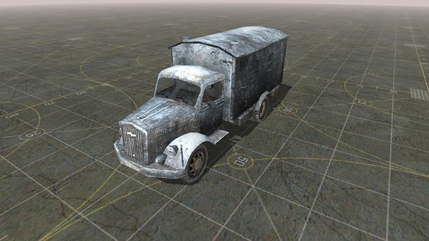 Скачать Текстура немецкого грузовика — бесплатно