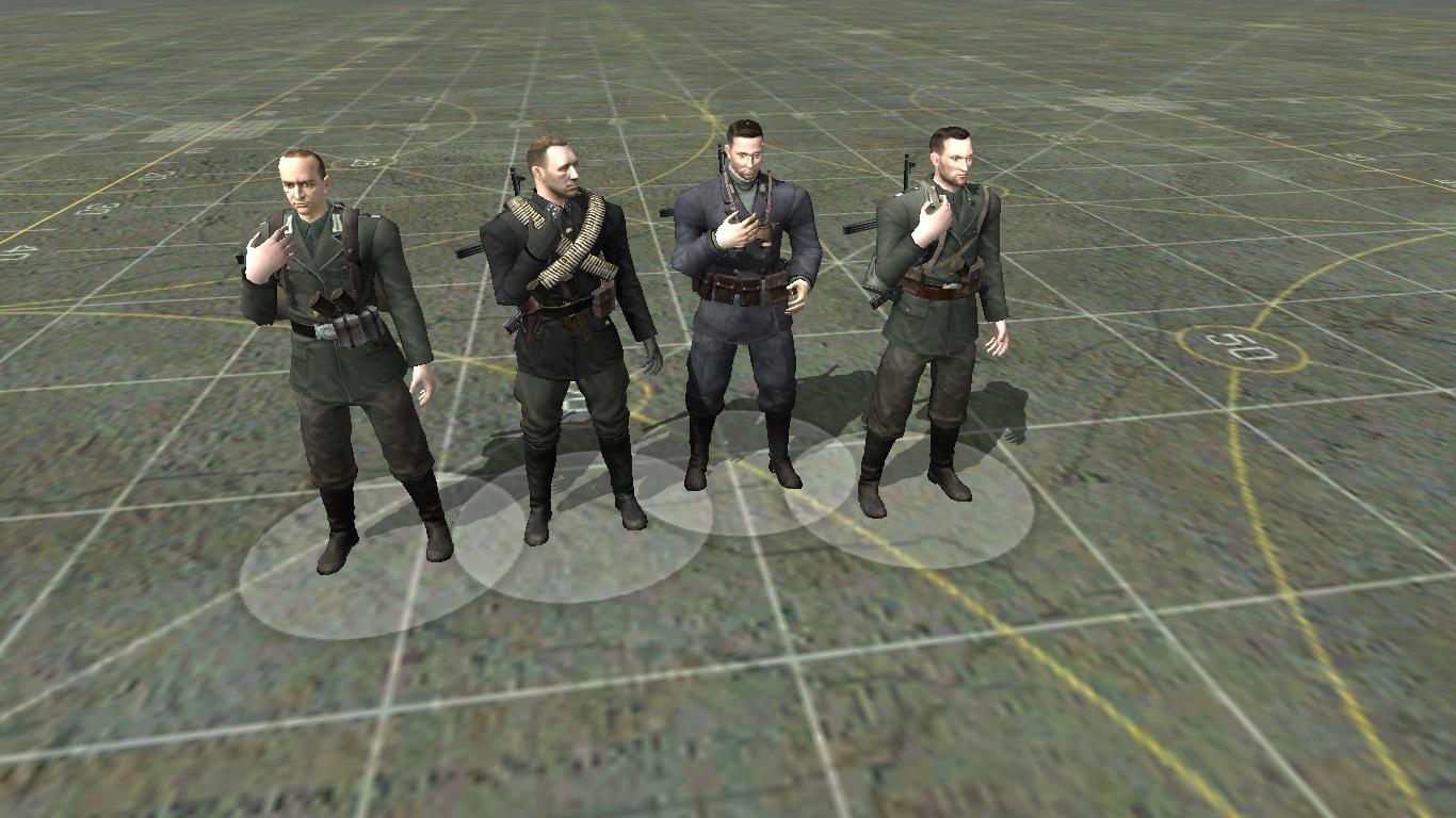 Скачать Пак немецких солдат из игры Sabotaur — бесплатно