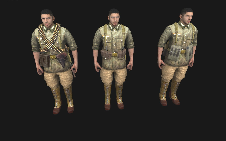 Скачать Afrikakorps skins для Robz Realism Mod — бесплатно