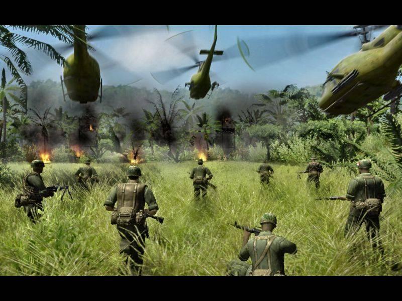 Скачать Диверсанты: Вьетнам | Men of War: Vietnam (1.00.2) + (1.00.3) — бесплатно