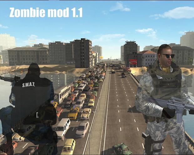 Скачать ZOMBIE mod 1.1 (MOW) — бесплатно